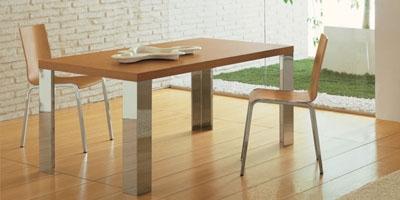 sedie e tavoli moderni